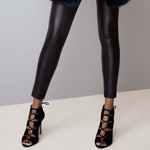 Ann Taylor lace up heel